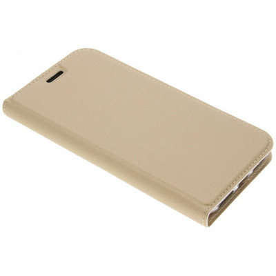 Slim Softcase Booktype iPhone X / Xs - Goud / Gold Mobile phone case