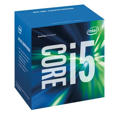 Intel processor: Core i5-7500