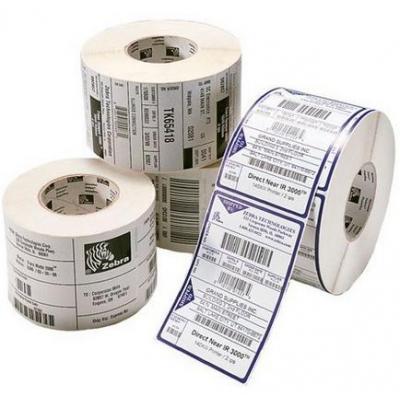 Zebra Label RFID 55x14mm, 76mm Core Etiket - Wit
