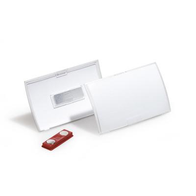 Durable Click Fold Badge - Transparant