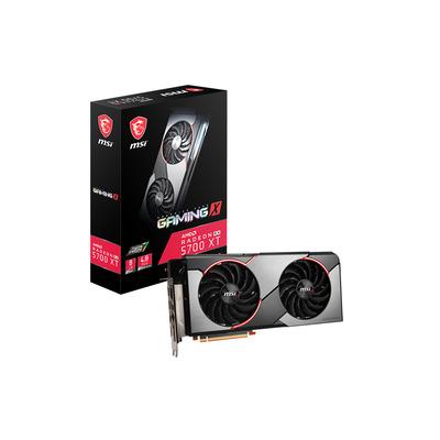 MSI RADEON RX 5700 XT GAMING X Videokaart - Zwart, Rood, Zilver