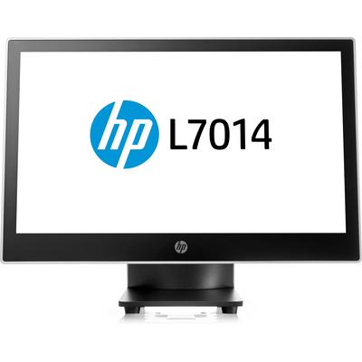 HP L7014 Paal display - Zwart, Zilver