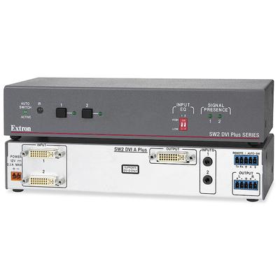 Extron SW2 DVI A Plus Video switch - Grijs,Wit