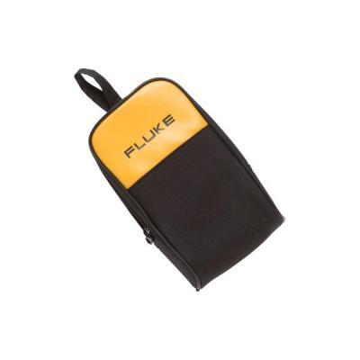 Fluke apparatuurtas: Large Soft Case for DMMs, black/yelow - Zwart, Geel