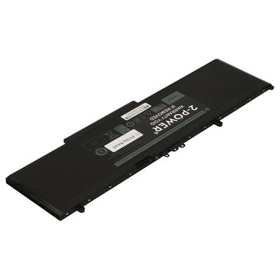 2-Power 11.4V 7260mAh Li-Polymer Laptop Battery Notebook reserve-onderdeel - Zwart