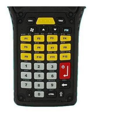 Zebra : 34 Key Numeric Telephony, black - Zwart