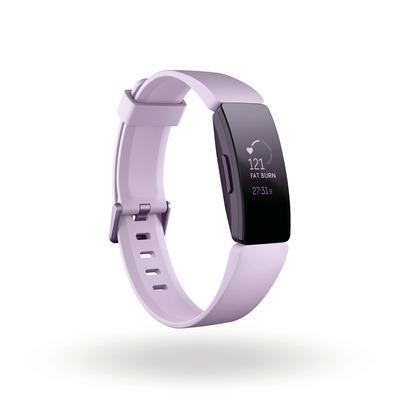 Fitbit Inspire HR Wearable - Zwart, Roze