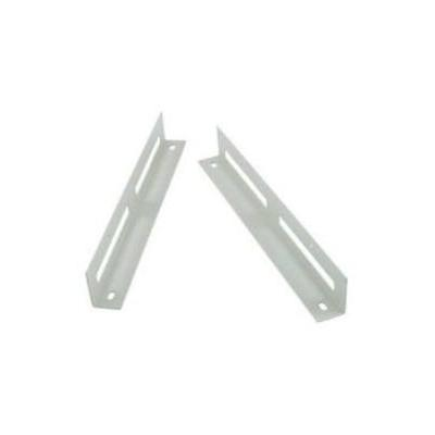Cisco rack toebehoren: C49xx front and rear mount brackets - Roestvrijstaal