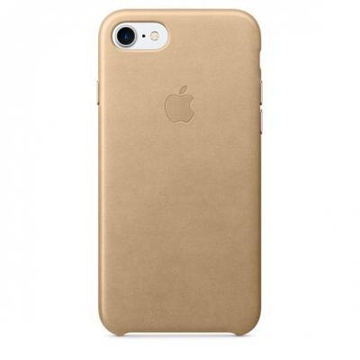 Apple mobile phone case: Leren hoesje voor iPhone 7 - Sahara‑beige