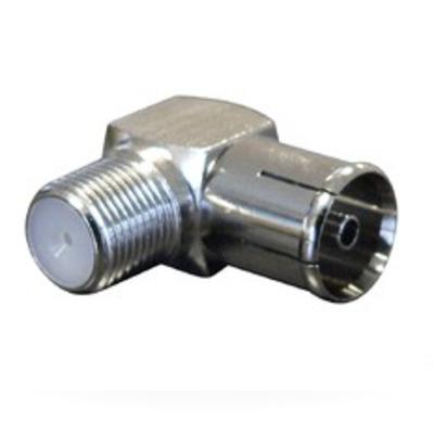 Maximum F-female -> IEC female ang HF shielded, 100 PCS coaxconnector