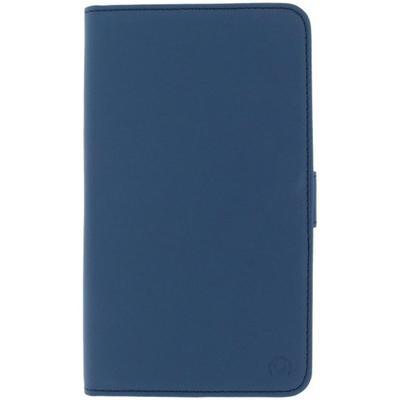 Mobilize Slim Wallet Book Case Motorola Google Nexus 6 Blue Mobile phone case - Blauw