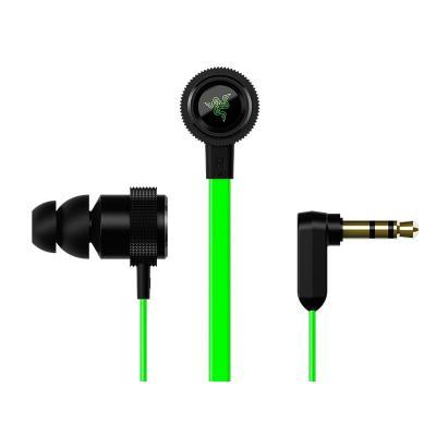 Razer koptelefoon: Hammerhead V2 - Zwart, Groen