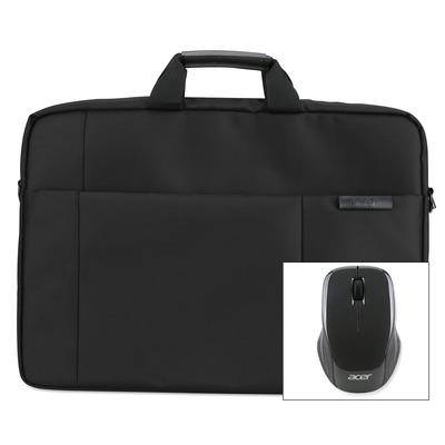 "Acer laptoptas: 17.3"" Options Pack Care Gold - Zwart"