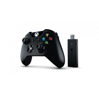 Microsoft game controller: Xbox One Wired Controller - Zwart