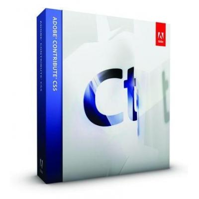 Adobe html editor: Contribute Contribute CS5 (v6.5), Win, ENG, UPG