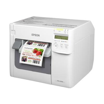 Epson labelprinter: TM-C3500 - Zwart, Cyaan, Magenta, Geel
