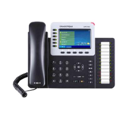 Grandstream Networks 6 lines, 6 SIP, 10/100/1000mbps, Bluetooth, HD audio, PoE, EHS IP telefoon - .....