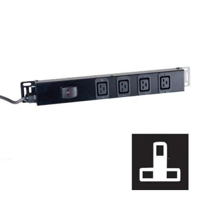 Black Box Standard C19 Power Strip Energiedistributie - Zwart