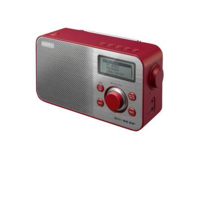 Sony radio: XDR-S60 DAB+/DAB/FM digitale radio - Rood