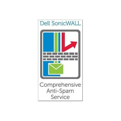 Dell software licentie: SonicWALL Anti-Spam for NSA 2600, 1 Year