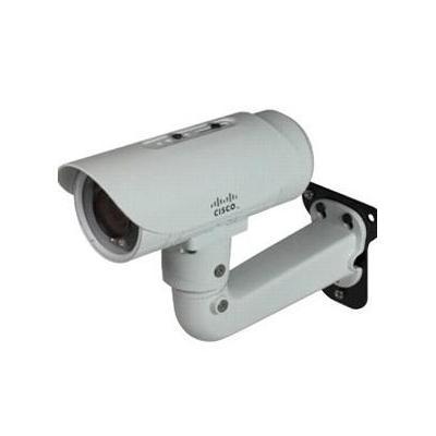 Cisco beveiligingscamera: Video Surveillance IP Camera, HD Bullet Camera, VR, IR - Wit