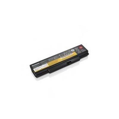 Lenovo batterij: ThinkPad Battery 76+, 6 cell. 48Wh - Zwart