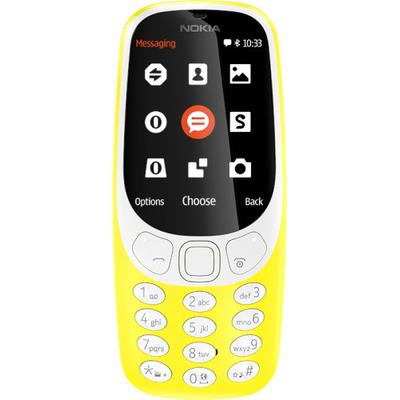 Nokia 3310 Mobiele telefoon - Geel
