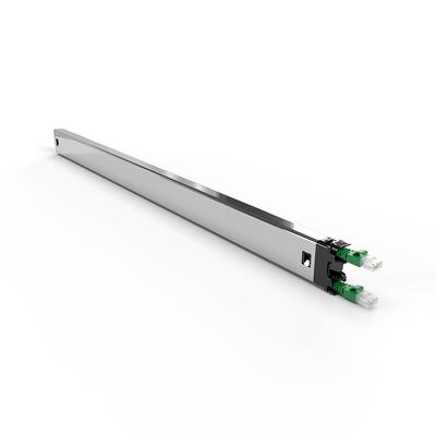 PATCHBOX ® Plus+ Cat.6a Cassette (STP, Green, 1.8m / 30RU) Netwerkkabel - Groen