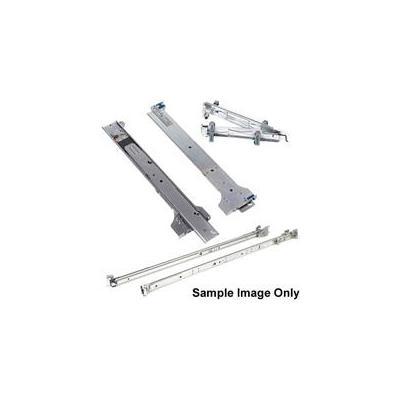 DELL Sliding Ready Rack Rails 1U - Kit Rack toebehoren - Zilver