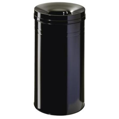 Durable prullenbak: Waste basket Safe+ round 30 - Zwart
