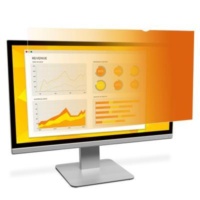 """3m schermfilter: GPF19.0 Gold Privacyfilter voor lcd-scherm voor desktops 19.0"""" - Goud, Doorschijnend"""