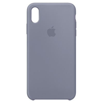 Apple Siliconenhoesje voor iPhone XS Max - Lavendelgrijs mobile phone case