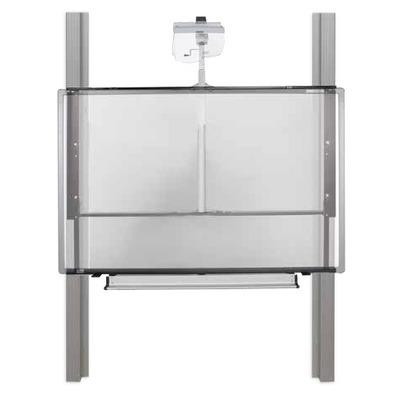Conen Mounts manual height-adjustable mount - Zwart, zilver