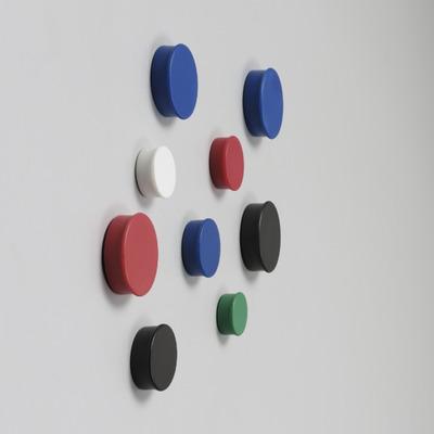 Nobo magnetisch bord: MAGNETS 20MM 8 RED SKPACK - Rood