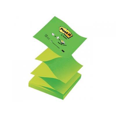 Post-it zelfklevend notitiepapier: Notitieblok Z-note 76x76 gr/pk12