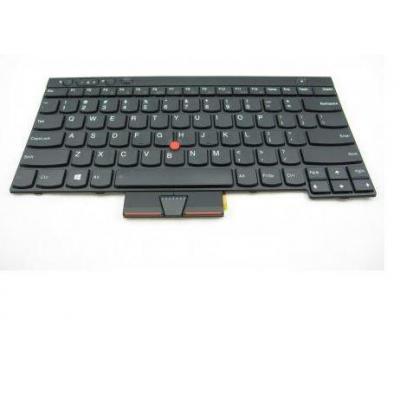 Lenovo notebook reserve-onderdeel: Keyboard for ThinkPad X230/L430/L530/T430/T430s/T530/W530 - Zwart