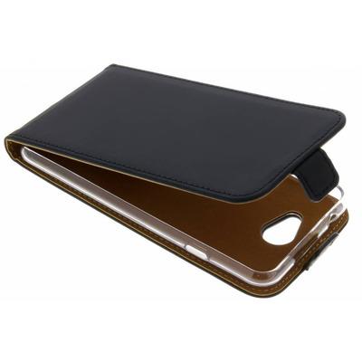 Luxe Softcase Flipcase General Mobile GM6 - Zwart / Black Mobile phone case