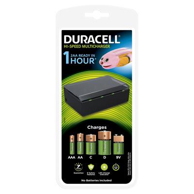 Duracell CEF 22 Oplader - Zwart