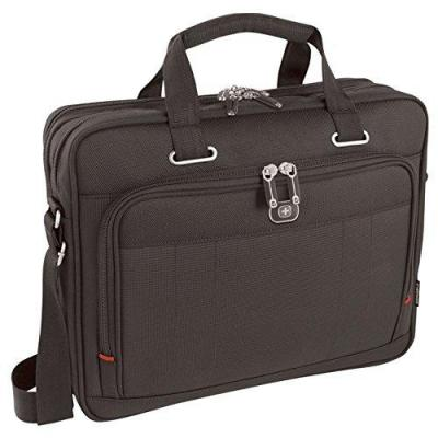 "Wenger/swissgear laptoptas: ACQUISITION 40.64 cm (16"") Laptop Briefcase with Tablet / eReader Pocket, Black - Zwart"