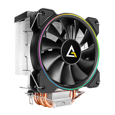 Antec A400 RGB Hardware koeling - Black, Koper, Metallic