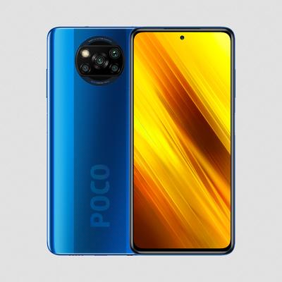 Xiaomi Poco X3 NFC Smartphone - Blauw 128GB