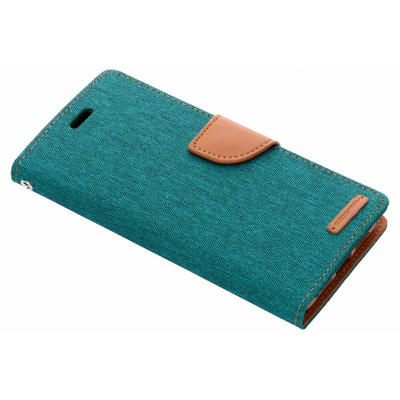 Canvas Diary Booktype Huawei P20 Pro - Groen / Green Mobile phone case