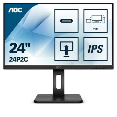 AOC 24P2C Monitor - Zwart