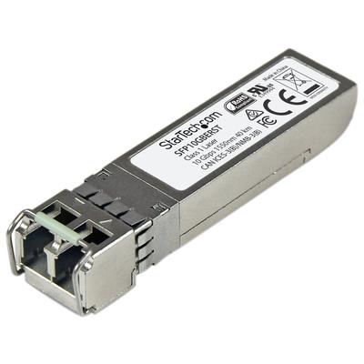 StarTech.com MSA conform 10 Gigabit glasvezel SFP+ module 10GBase-ER SFP+ SM LC transceiver 40 km 1550nm .....