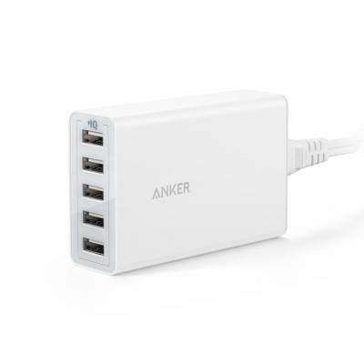 Anker PowerPort 5 Oplader - Wit