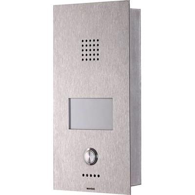 Wantec Monolith C GSM Deurintercom installatie - Roestvrijstaal