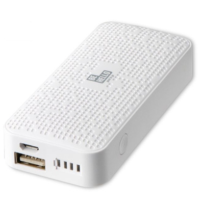 Behello powerbank: Powerbank 5200 mAh Wit