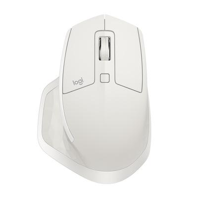 Logitech computermuis: MX Master 2S - Grijs, Wit