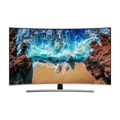 Samsung led-tv: NU8509 (2018) - Zwart, Zilver