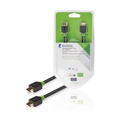 König HDMI kabel: KNV34000E50 - Antraciet